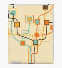 tree pattern and weaving line iPad Case/Skin