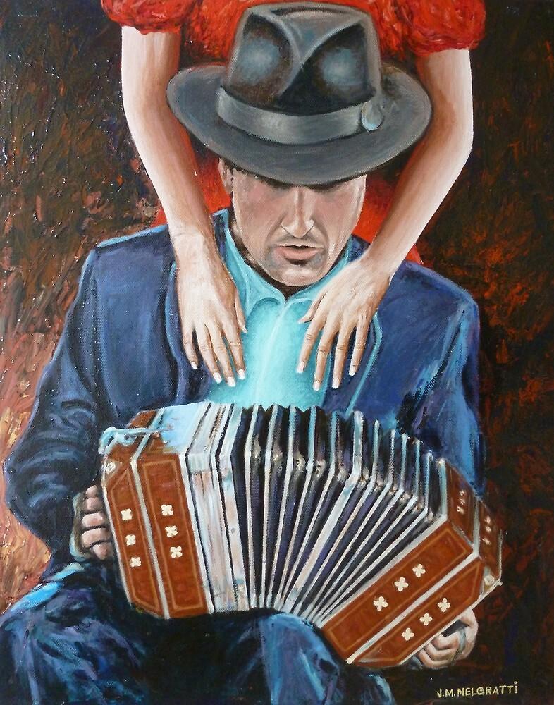 Musa del Tango by jadlart