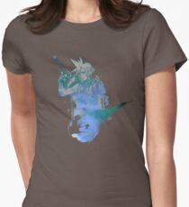 Cloud Strife Meteor (Black) Women's Fitted T-Shirt
