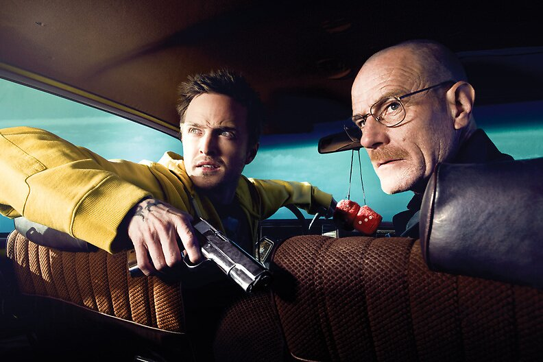 Breaking Bad - Walt & Jesse by ninthintheline