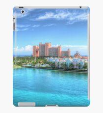 Atlantis and Harbour Village in Paradise Island, The Bahamas | iPad Case iPad Case/Skin