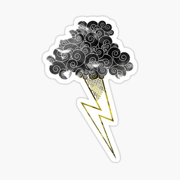 Lightning Bolt Sticker