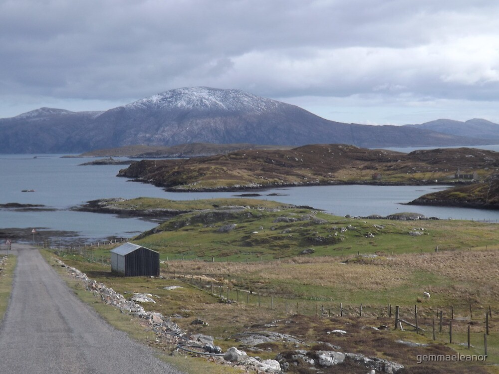 Road to Stornoway by gemmaeleanor