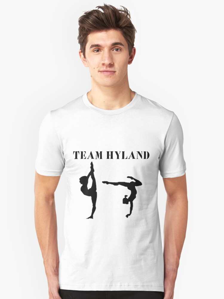 Team Hyland (In Black) Unisex T-Shirt Front