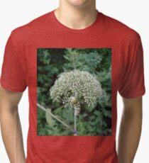 THE FLOWER EATER Tri-blend T-Shirt