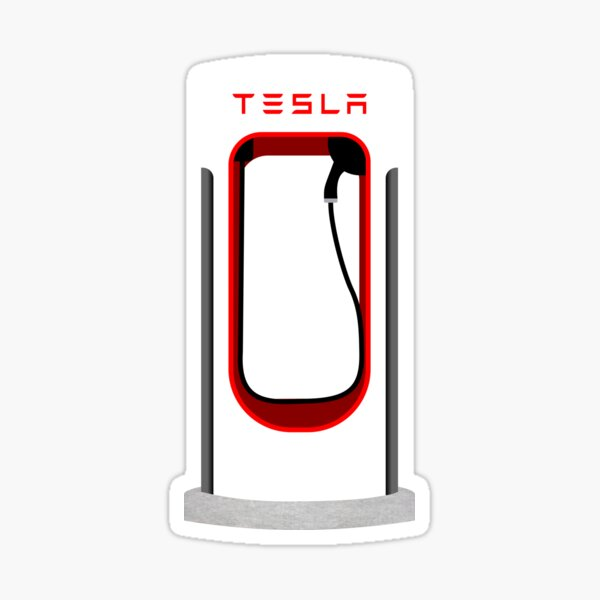 Superchargeur Tesla Sticker