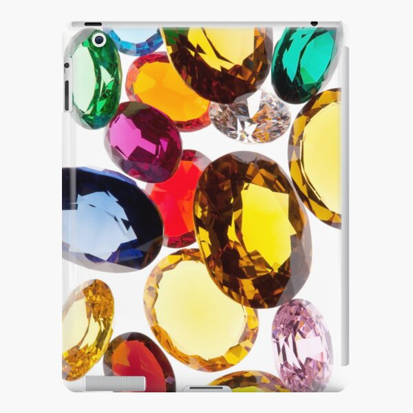 colorful gems iPad Snap Case