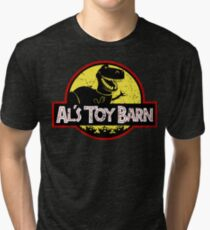 Plastic Park Tri-blend T-Shirt