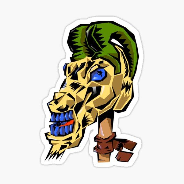 Goat skull Sticker