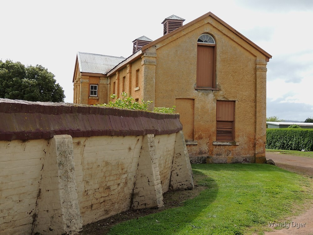 Woolmers Coach House in Tasmania - - A World Heritage Listed Site by Wendy Dyer