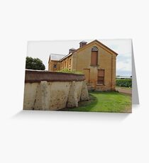 Woolmers Coach House in Tasmania - - A World Heritage Listed Site Greeting Card