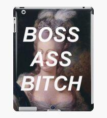 marie antoinette- boss ass bitch iPad Case/Skin