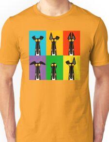 Greyhound Semaphore Unisex T-Shirt