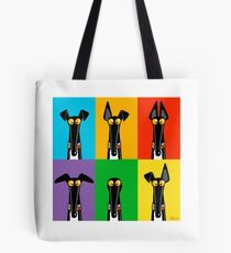 Greyhound Semaphore Tote Bag