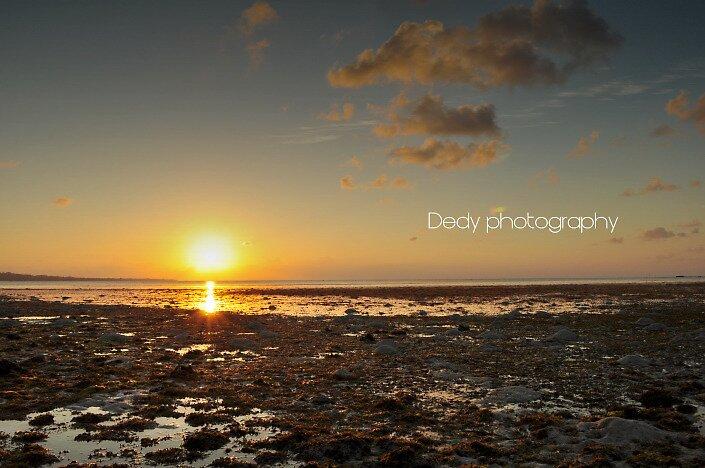 sunset by dedy