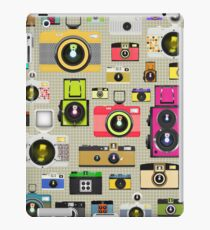vintage camera pattern iPad Case/Skin