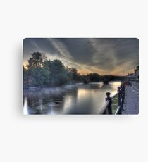 Impressions of Bewdley - Tranquil Canvas Print