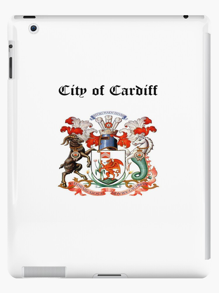 City of Cardiff iPad Case by Catherine Hamilton-Veal  ©