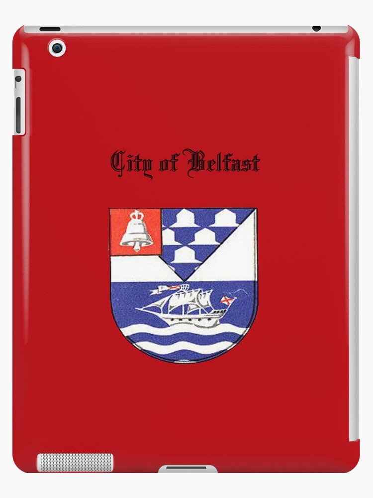 City of Belfast iPadCase by Catherine Hamilton-Veal  ©