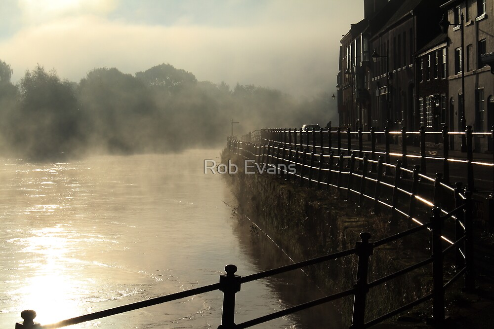 Impressions of Bewdley - Ghostly Morning by Rob Evans