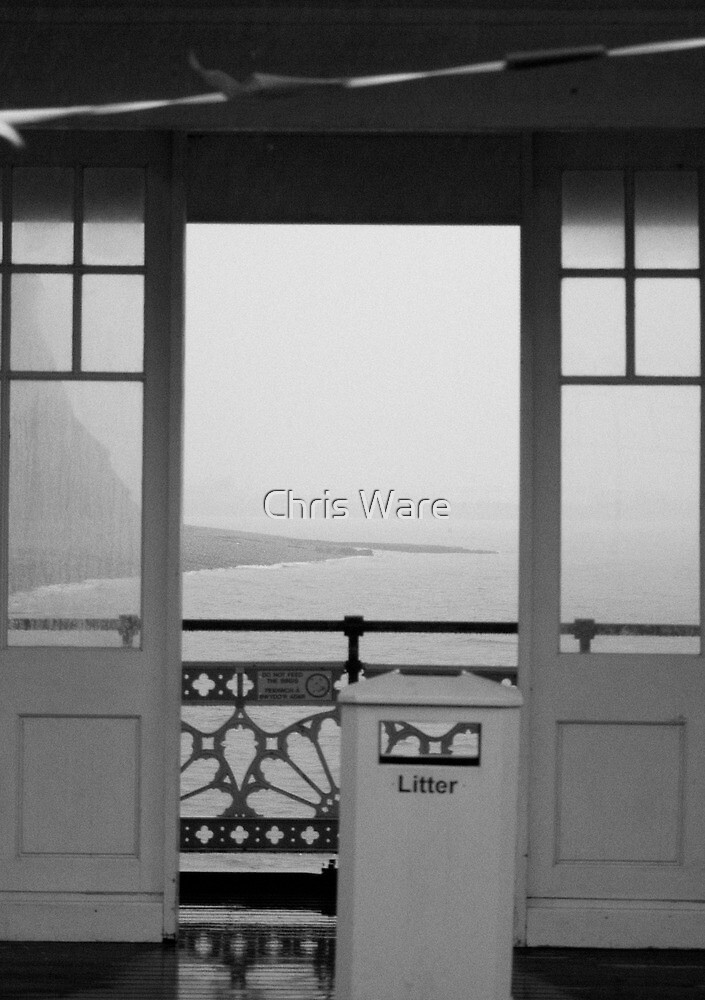 Shelter from the rain by CHRISTOPHER WARE