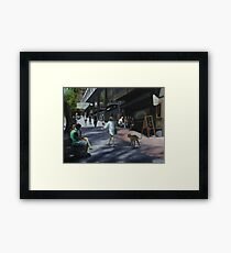 Village Heart Framed Print