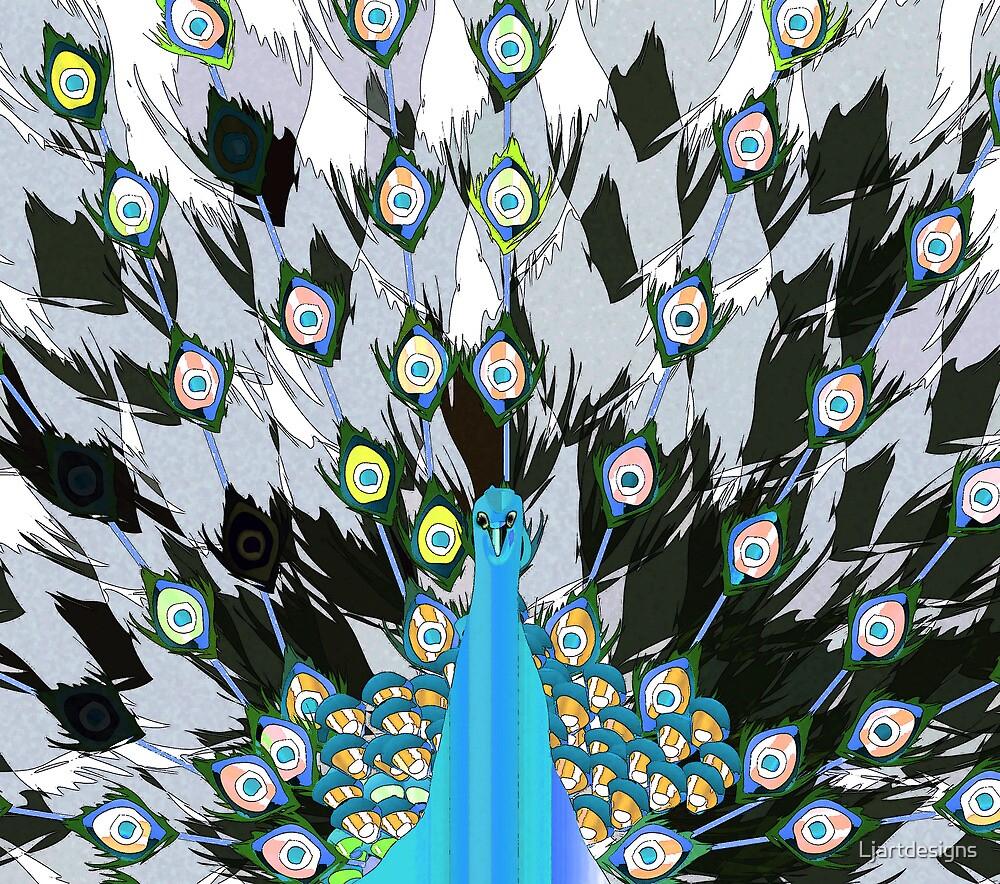 Peacock by Ljartdesigns