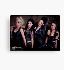 Harley Girls Canvas Print