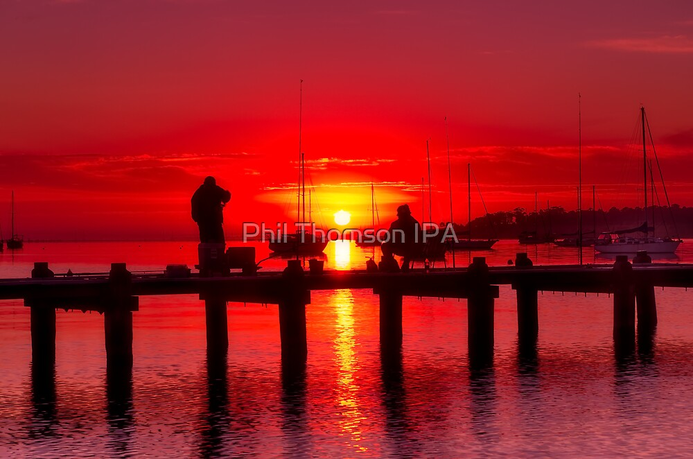 """""""Dock Of The Bay"""" by Phil Thomson IPA"""