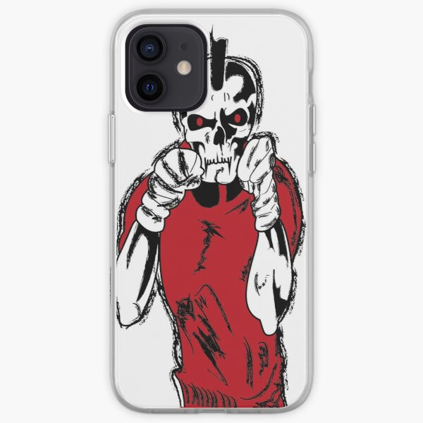 Mixed Martial Arts Skull Boxing Fight Easy  MMA  iPhone Soft Case