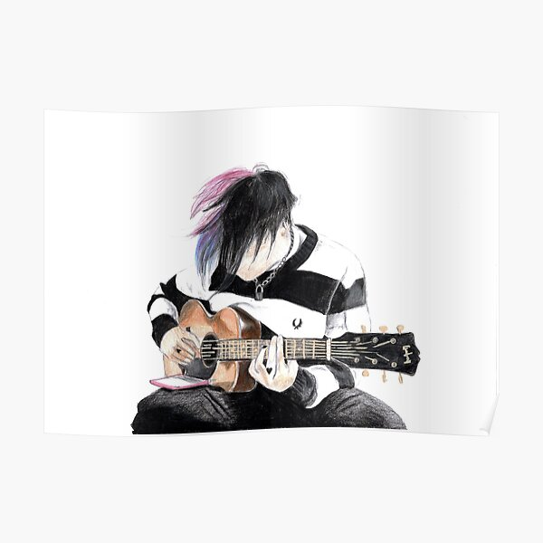 Guitarra Yungblud Póster