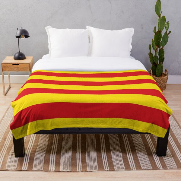 Catalan Flag Gifts, Stickers & Products Throw Blanket
