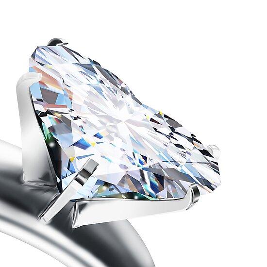 heart diamond by naphotos