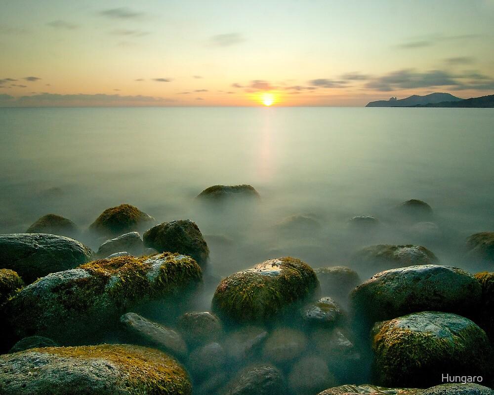 Beautiful IBIZA  Mysterious Sunset Cap d´es Falco by Hungaro