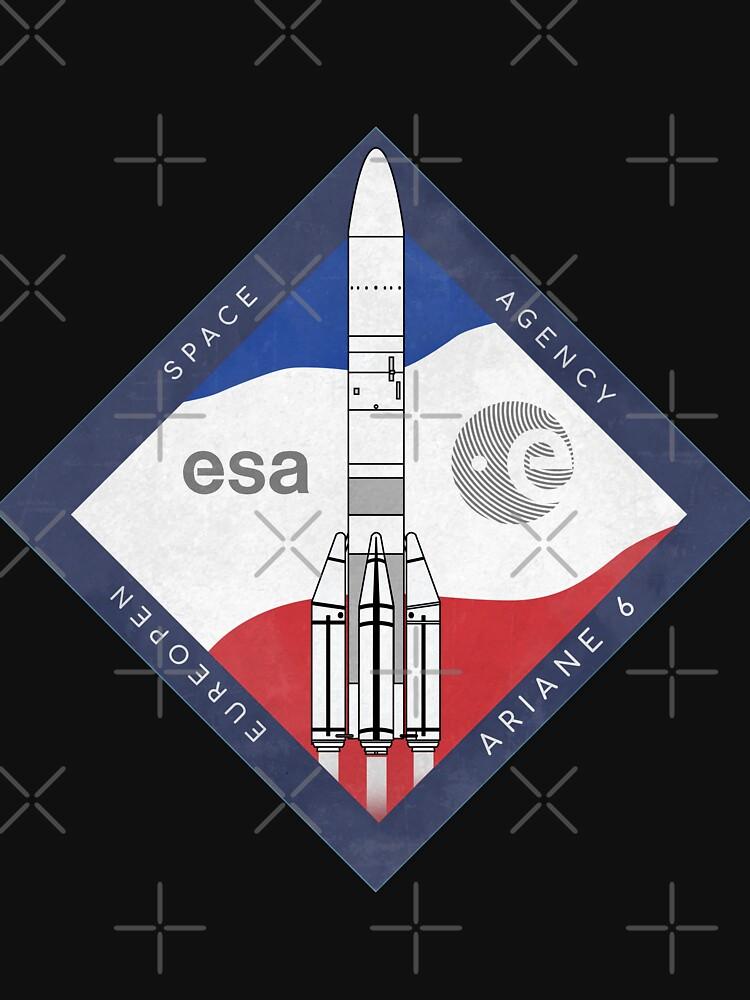 ARIANE 6-ESA Rocket by BGALAXY