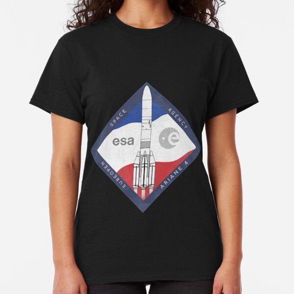 ARIANE 6-ESA Rocket Classic T-Shirt