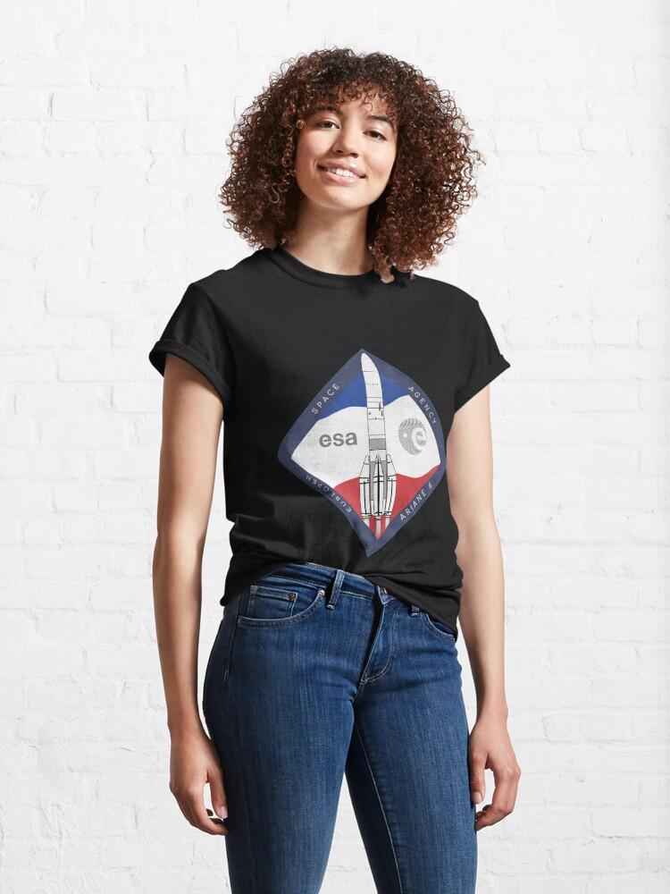 Alternate view of ARIANE 6-ESA Rocket Classic T-Shirt