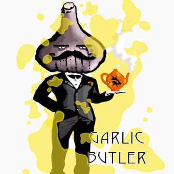 Garlic Butler by CerberusAzdin