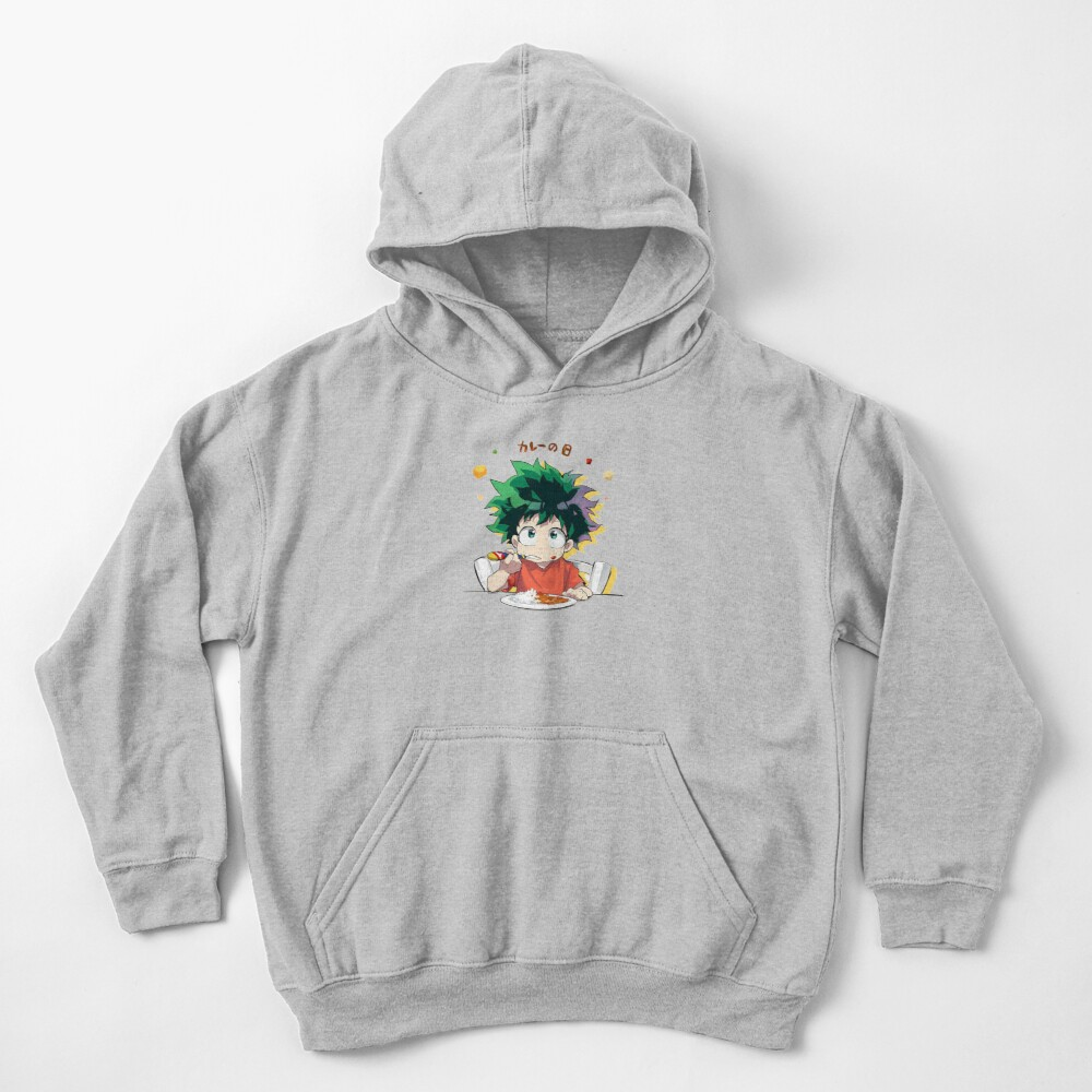My Hero Academia Curry Day with Deku! Kids Pullover Hoodie