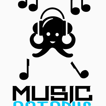 Music Octopus by RoboGFX