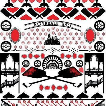 Crimson Peak Ugly Sweater Pattern by inuniverse