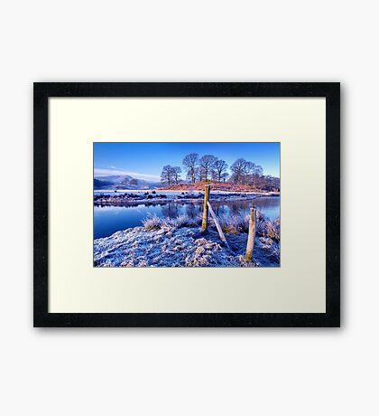 The River Brathay - The Lake District. Framed Print