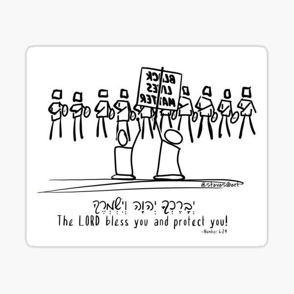 Peaceful Protests Sticker