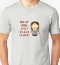 Oh My God! They Killed Clara! Slim Fit T-Shirt