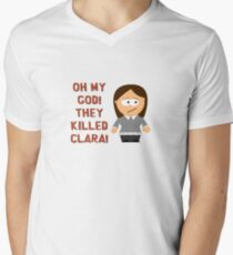 Oh My God! They Killed Clara! V-Neck T-Shirt