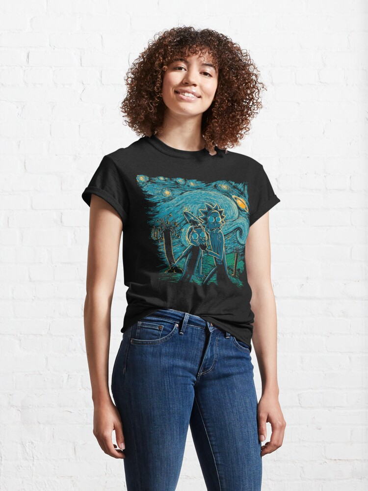 Alternate view of Impressionist Science Classic T-Shirt