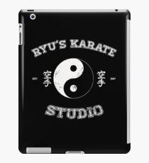 Ryu's Karate Studio - Black Version iPad Case/Skin