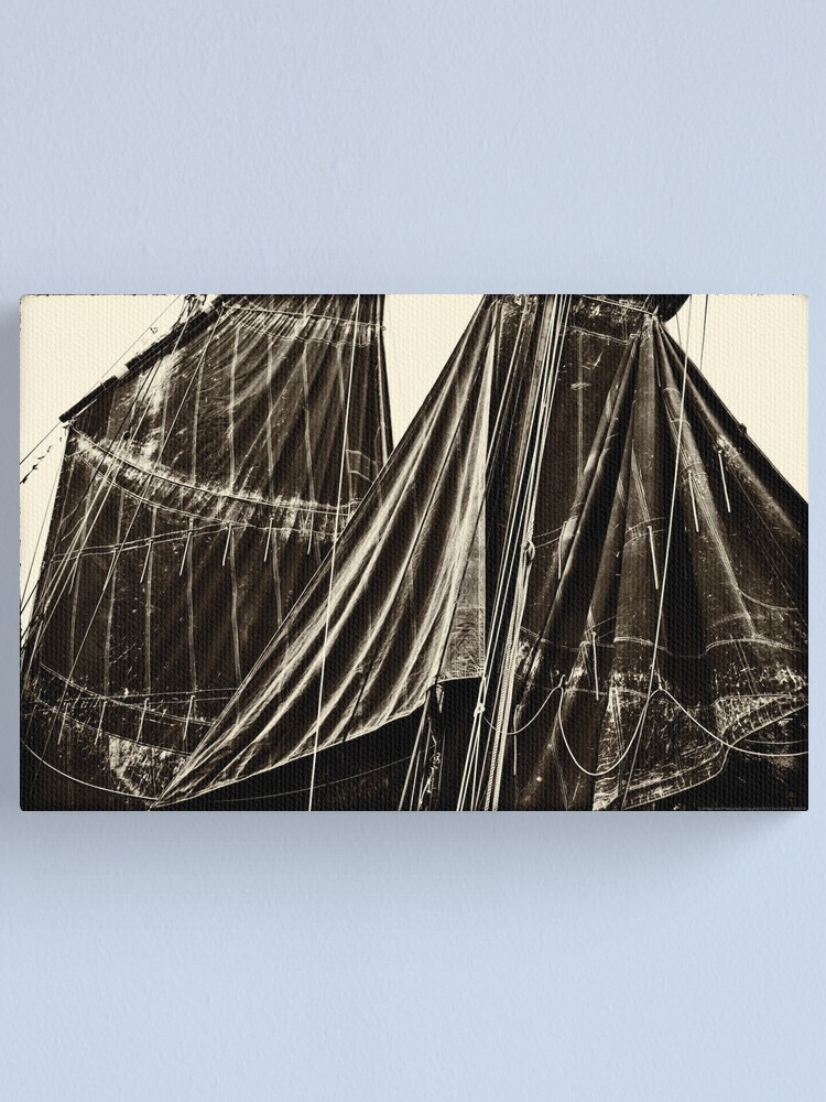 Alternate view of Sails, The Belle Angel  2012 Canvas Print
