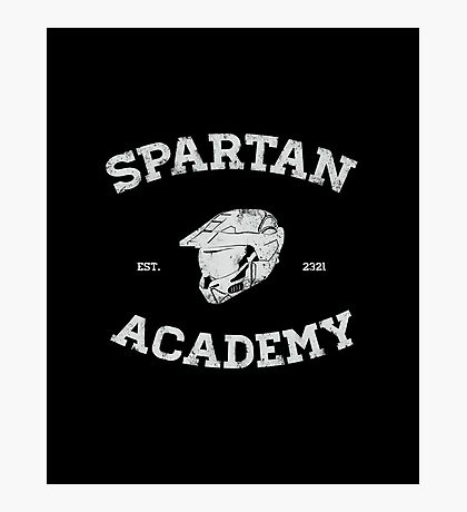 Spartan Academy Photographic Print