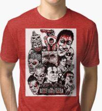 Evil Dead Trilogy Tri-blend T-Shirt
